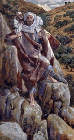 The Good Shepherd, Illustration for 'The Life of Christ', C.1886-94 by James Tissot