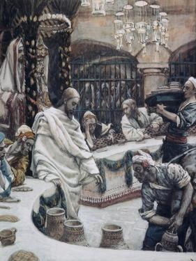 The Marriage of Cana of Galilee by James Tissot