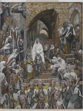 The Procession in the Streets of Jerusalem by James Tissot