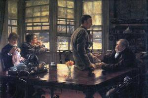 The Prodigal Son in Modern Life- the Farewell by James Tissot