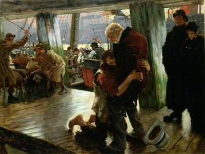 The Prodigal Son in Modern Life: The Return, c.1882 (Preparatory Sketch)