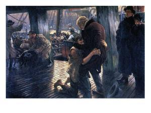 The Prodigal Son in Modern Life - the Return by James Tissot