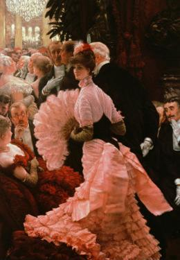 The Reception Or, L'Ambitieuse circa 1883-85 by James Tissot