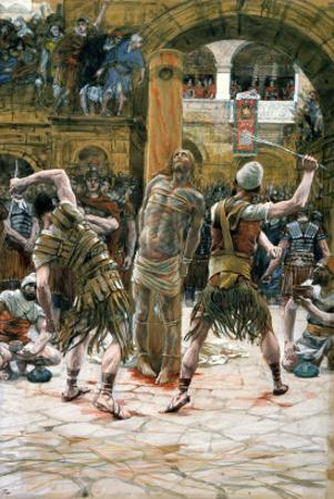 The Scourging, Illustration for 'The Life of Christ', C.1884-96 by James Tissot