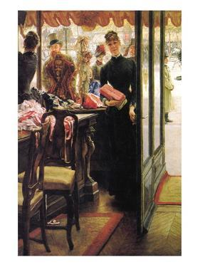 The Seller by James Tissot
