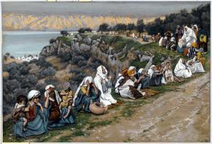 The Sick Waiting for Jesus to Pass By, Illustration for 'The Life of Christ', C.1884-96 by James Tissot