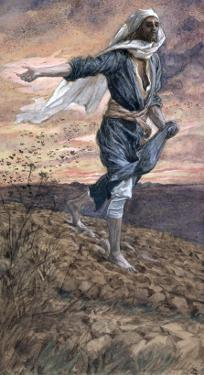 The Sower, Illustration for 'The Life of Christ', C.1886-94 by James Tissot