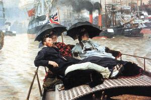 The Thames by James Tissot