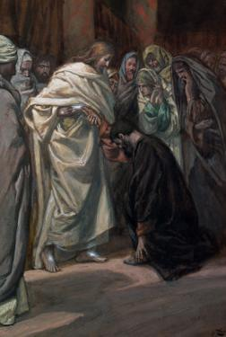 The Unbelief of St. Thomas, Illustration for 'The Life of Christ', C.1884-96 by James Tissot