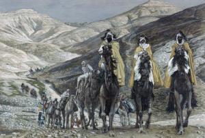 The Wise Men Journeying to Bethelhem by James Tissot