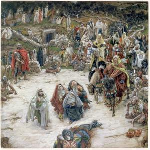 What Christ Saw from the Cross, Illustration for 'The Life of Christ', C.1886-96 by James Tissot