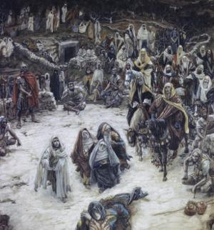 What Christ Saw from the Cross by James Tissot