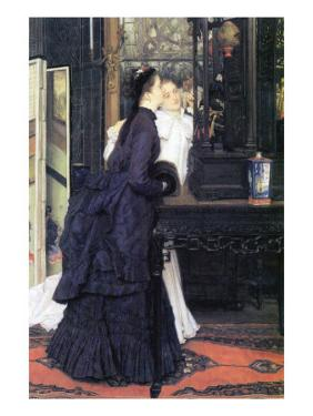 Young Women with Japanese Goods by James Tissot