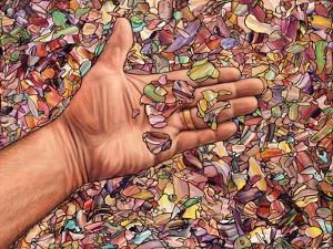 Fragmented Touch by James W. Johnson