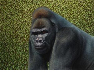 Gorilla with a Hedge by James W. Johnson