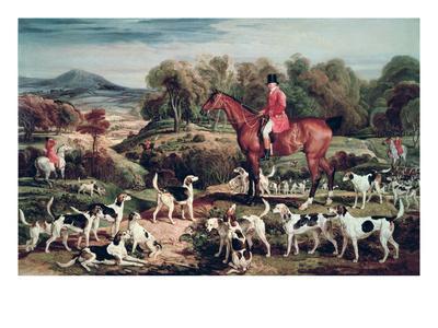 Ralph Lambton and His Hounds