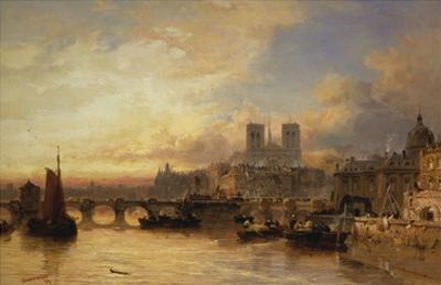 A View of Paris, France