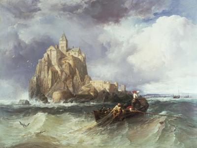 Mont St. Michel, 1868