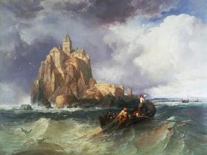 Mont St Michel, 1868 by James Webb