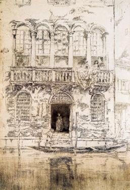 James Whistler The Balcony Art Print Poster
