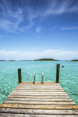 Dock , Staniel Cay, Exuma, Bahamas by James White