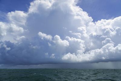 Thunderstorm Above the Lower Florida Keys, Florida Bay, Florida
