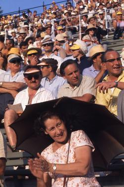 August 1960: Spectators at the 1960 Rome Olympic Summer Games by James Whitmore