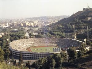 August 25, 1960: Rome Summer Olympic Games Opening Ceremony by James Whitmore