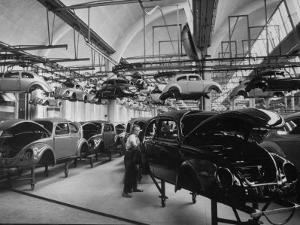 Volkswagen Plant Assembly Line by James Whitmore