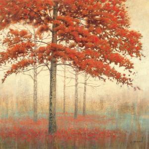 Autumn Trees II by James Wiens