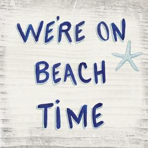 Beach Time VI Sq by James Wiens