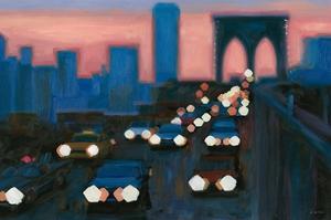 Brooklyn Bridge Evening by James Wiens