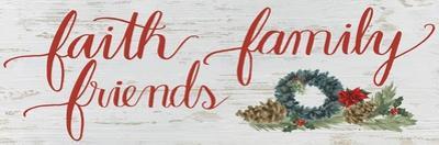 Christmas Holiday - Faith Family Friends v2 by James Wiens