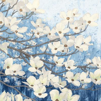 Dogwood Blossoms II Indigo by James Wiens