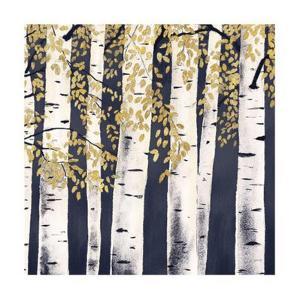 Fresh Forest Indigo III by James Wiens
