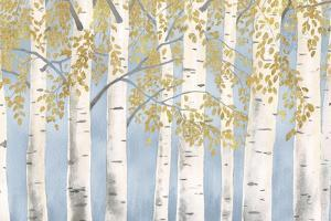 Fresh Forest Light Blue Gold by James Wiens