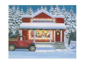 Holiday Moments II North Pole by James Wiens