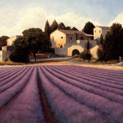Lavender Fields I Crop by James Wiens