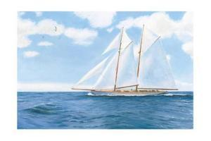 Majestic Sailboat by James Wiens