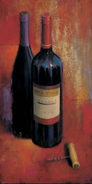 Merlot Abstract by James Wiens