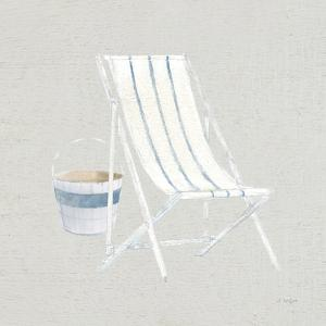 Serene Seaside III Tan by James Wiens