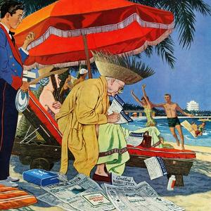 """Business at the Beach,"" January 23, 1960 by James Williamson"