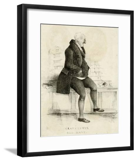James Wood - Banker--Framed Giclee Print