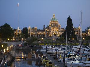 British Columbia, Parliament Buildings by Jamie And Judy Wild