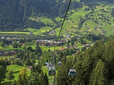 Switzerland, Bern Canton, Grindelwald, Grindelwaild-First Lift