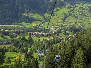 Switzerland, Bern Canton, Grindelwald, Grindelwaild-First Lift by Jamie And Judy Wild