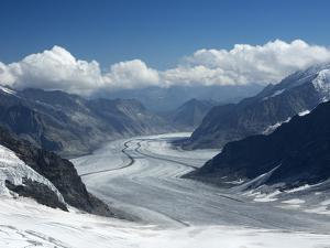 Switzerland, Bern Canton, Jungfraujoch, Aletsch Glacier by Jamie And Judy Wild