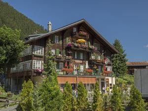 Switzerland, Bern Canton, Murren, Swiss Chalet by Jamie And Judy Wild