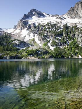 Alpine Lake, Sawtooth National Recreation Area, Idaho, USA by Jamie & Judy Wild