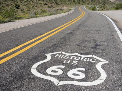 Arizona, Cool Springs, Route 66 by Jamie & Judy Wild